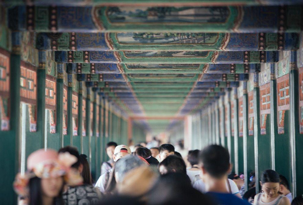Lake Palace in Beijing