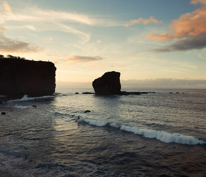 Sweetheart Rock in Lanai