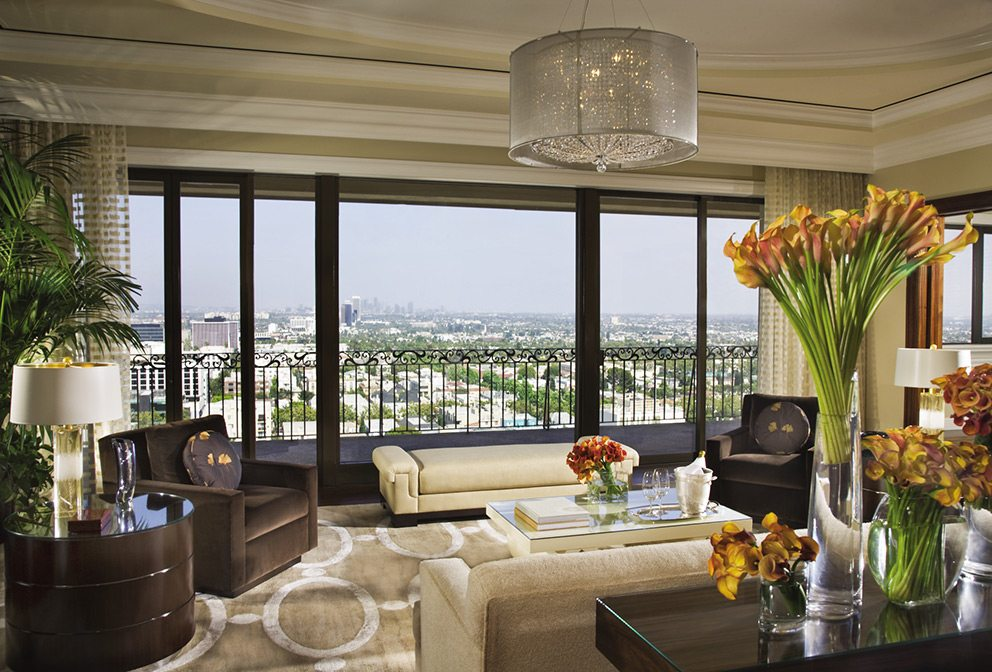 Four Seasons Beverly Hills Penthouse Suite