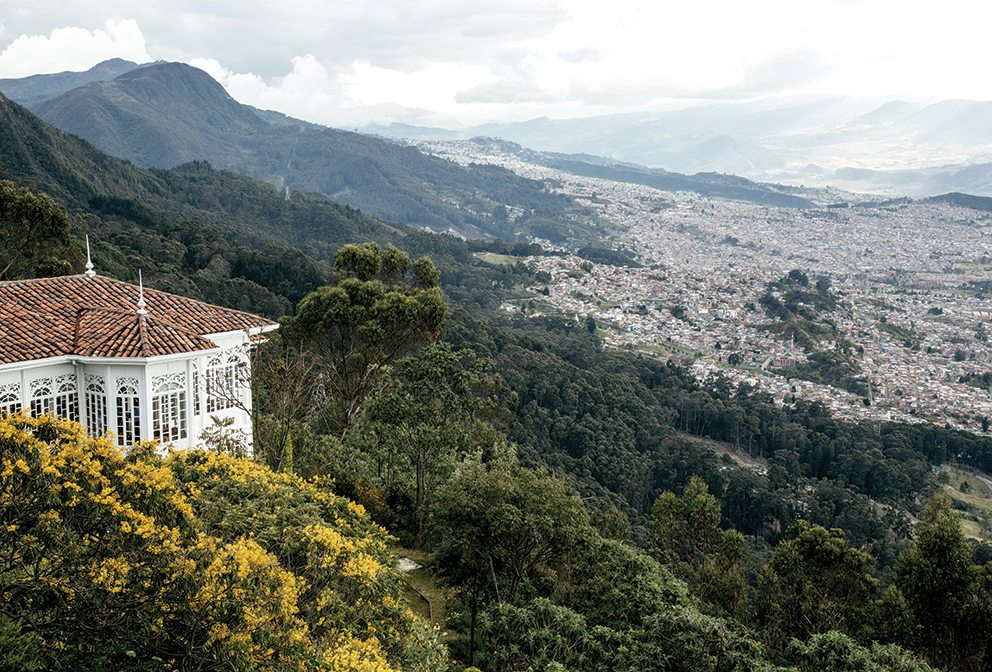 Bogotá view