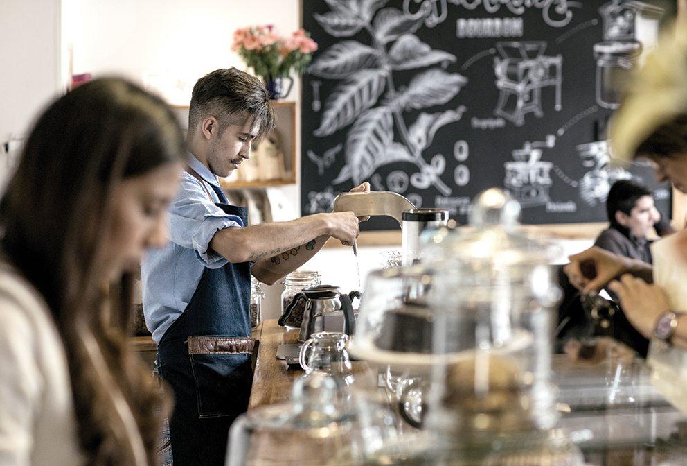 Bourbon Coffee Roasters, Bogotá