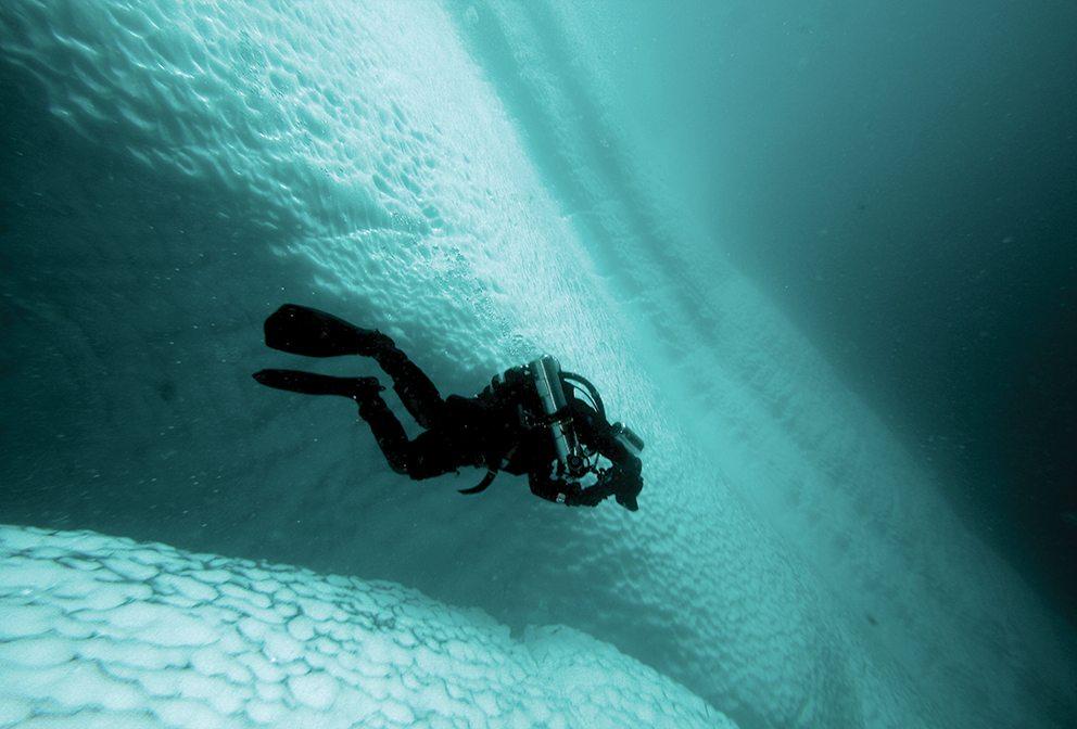 Iceberg diving – Rick Stanley