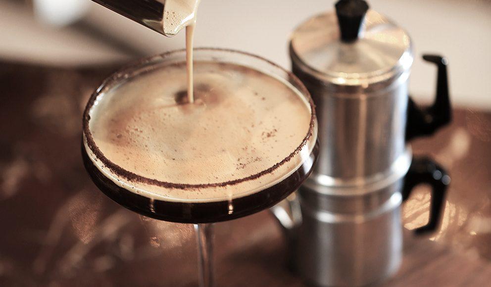 Four Seasons Hotel Beijing Bartender John Cheng's Kopi Luwak Martini