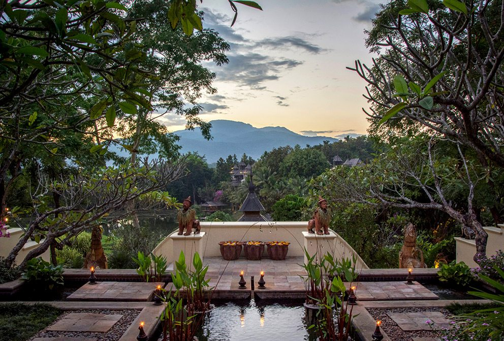 View from Four Seasons Resort Chiang Mai