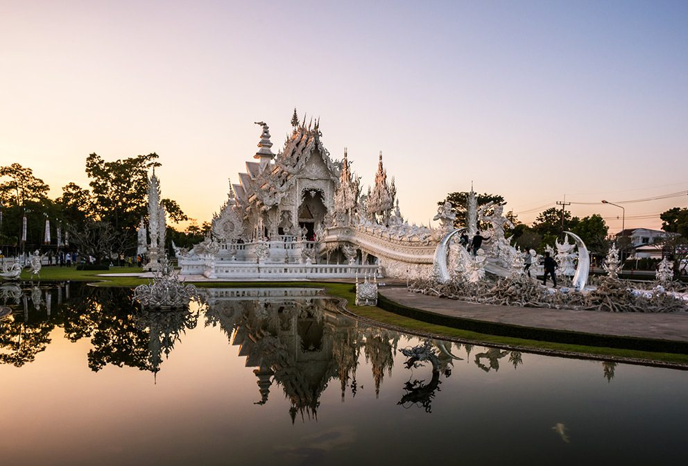 White Temple, Wat Rong Khun, Thailand