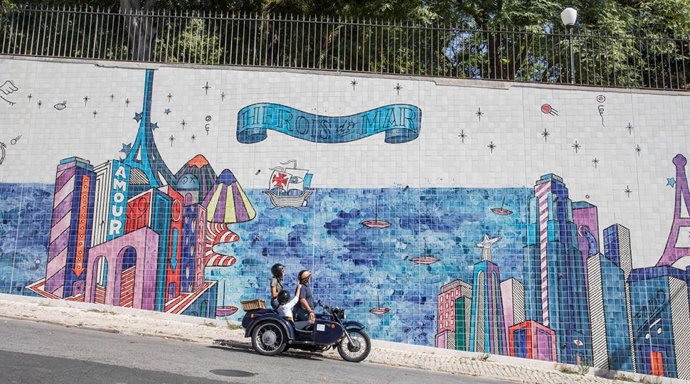 Lisbon Scooter Adventure