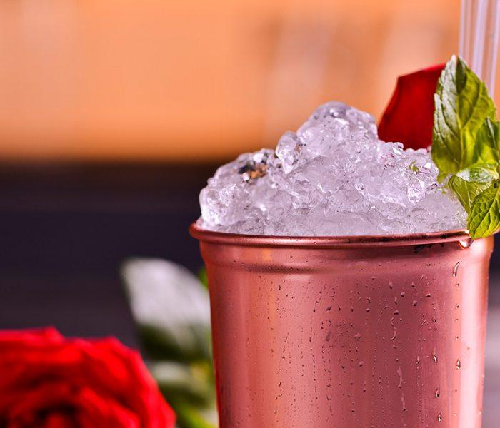 Rose Gold Julab cocktail