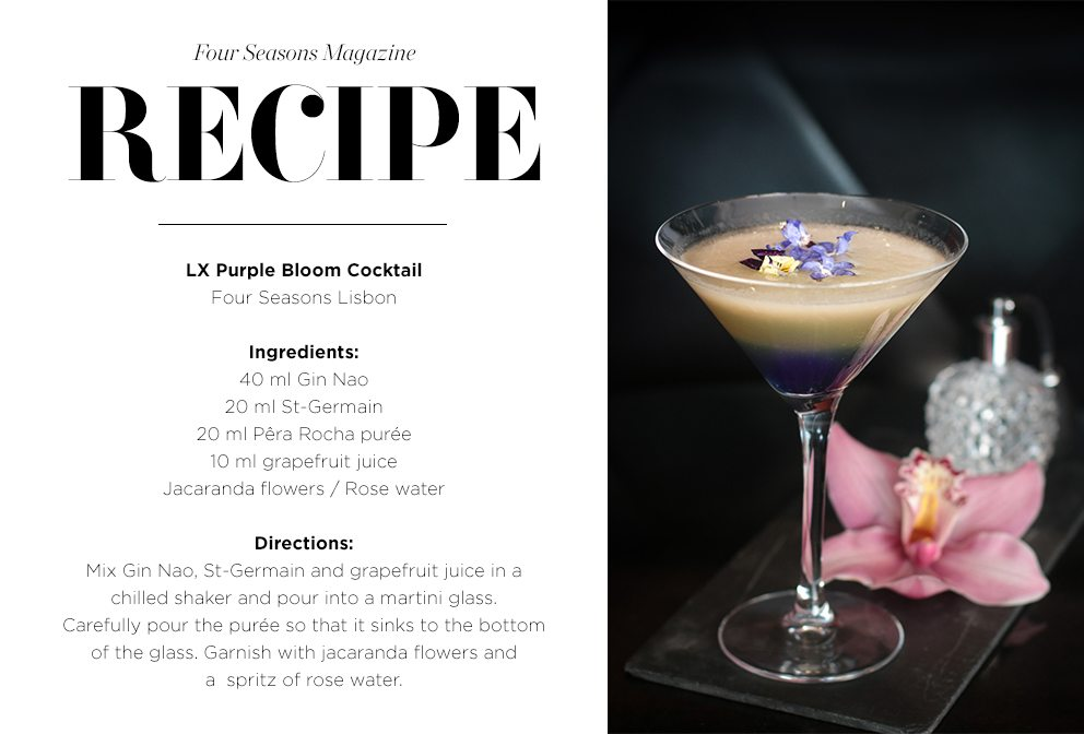 spring cocktail recipes four seasons hotels and resorts