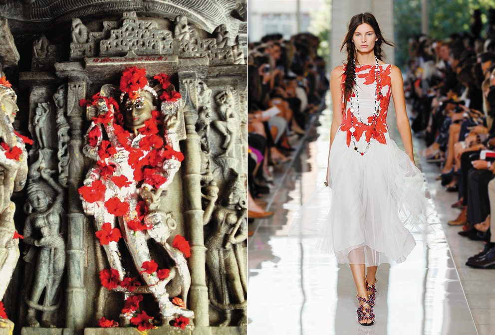A Tory Burch Design Inspired by India Icon