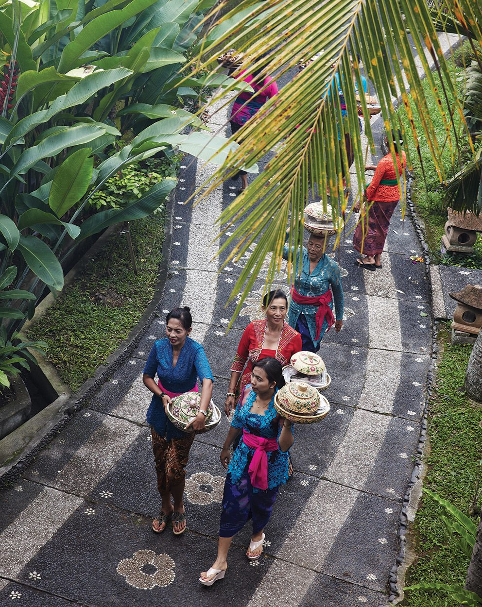 Preparation for a Balinese Wedding at Ubud Village