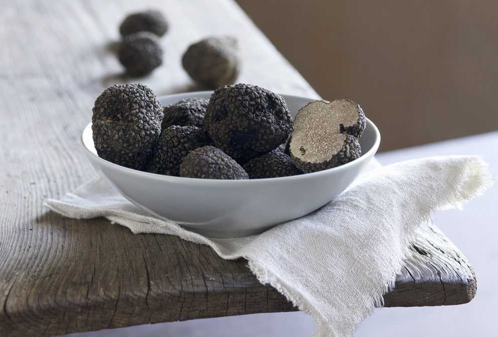 Australian truffles in bowl
