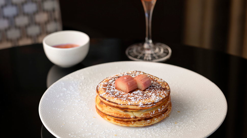 London Lemon Ricotta Pancakes