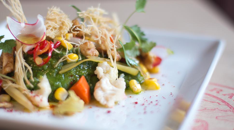 Seasons Brunch Salad Is A Signature Dish