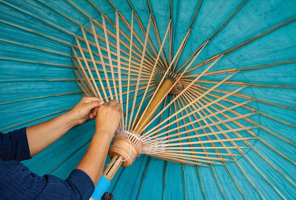 Chiang mai sa paper umbrella