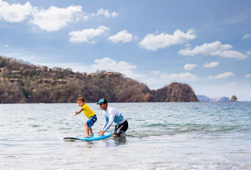 Costa Rica kids surf lessons