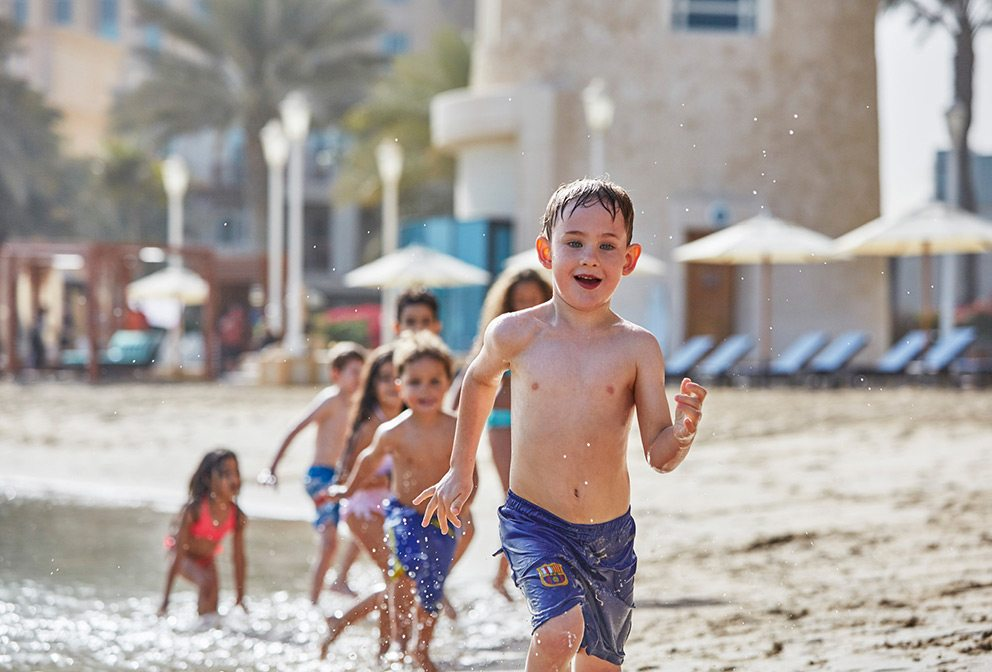 Doha kids club beach
