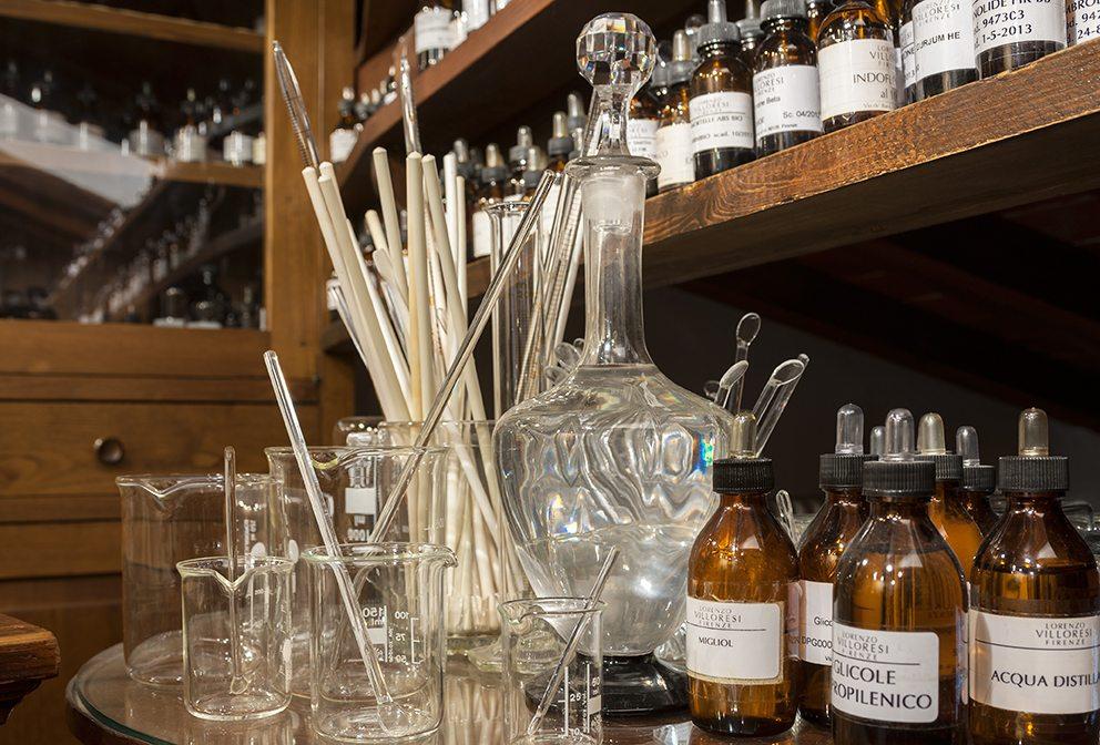 Lorenzo Villoresi perfume making