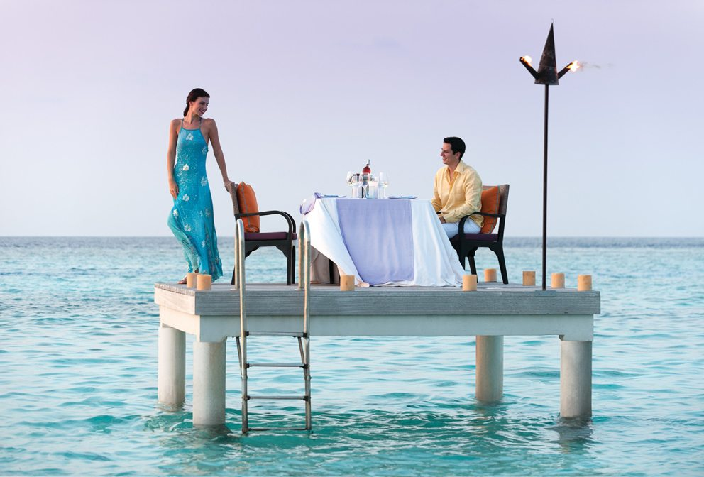 Maldives Ocean Dinner