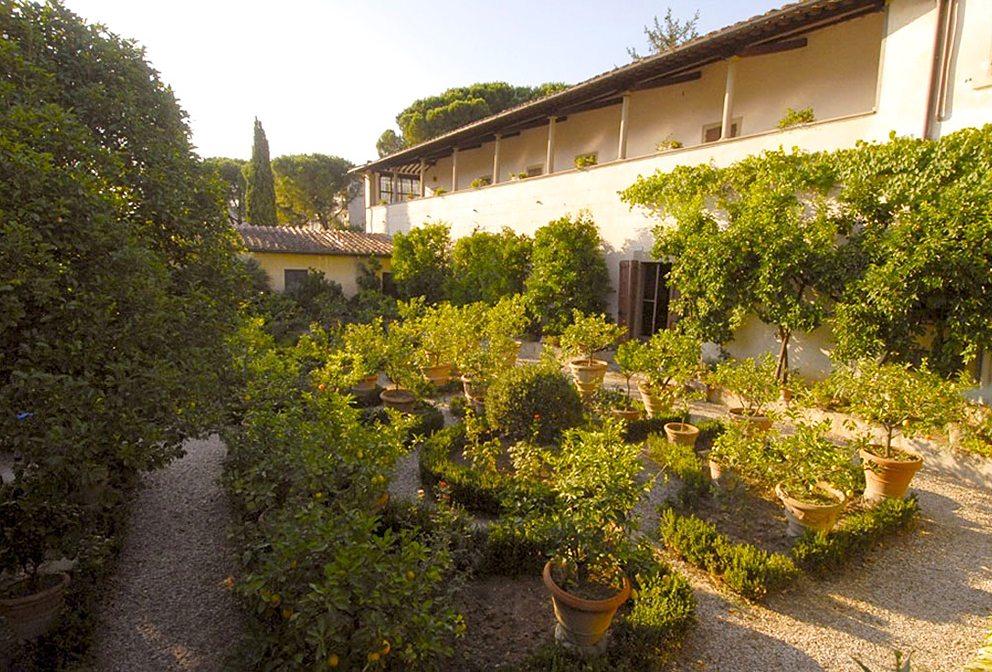 Lorenzo Villoresi's childhood garden