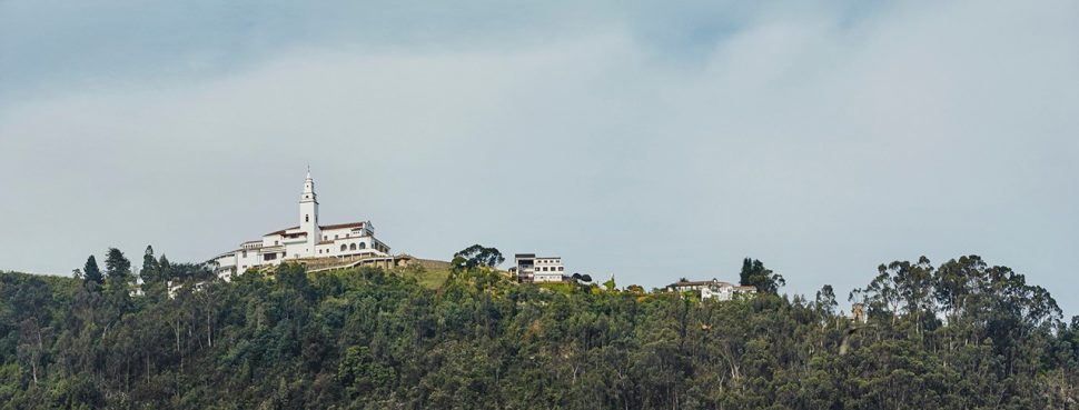 Building on hill