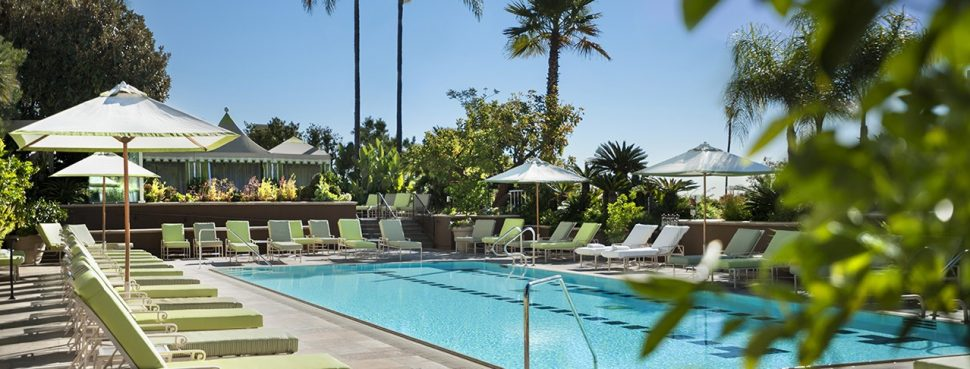 pool at Four Seasons Hotel Los Angeles at Beverly Hills