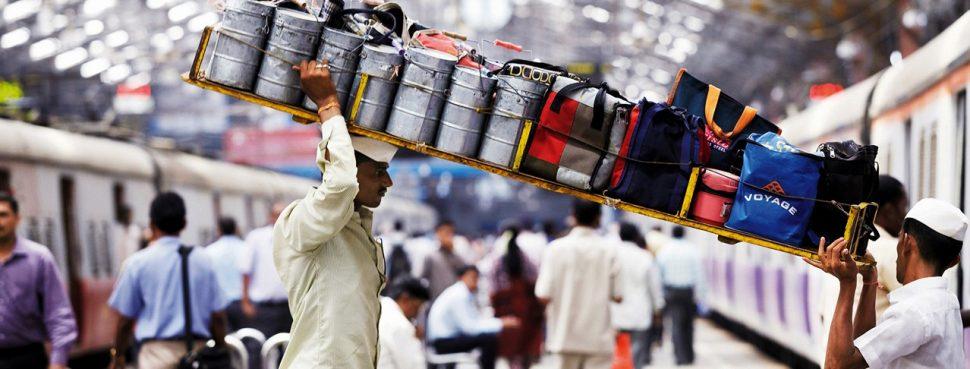 Dabbawalas food deliveries in Mumbai