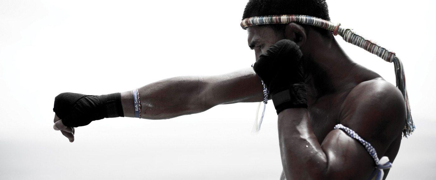 Koh Samui Muay Thai fighter