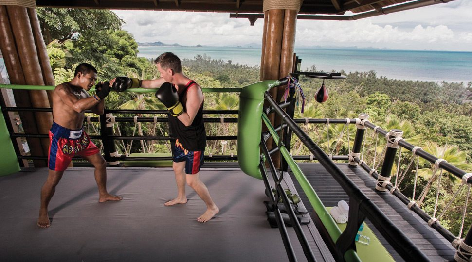 Koh Samui Muay Thai training