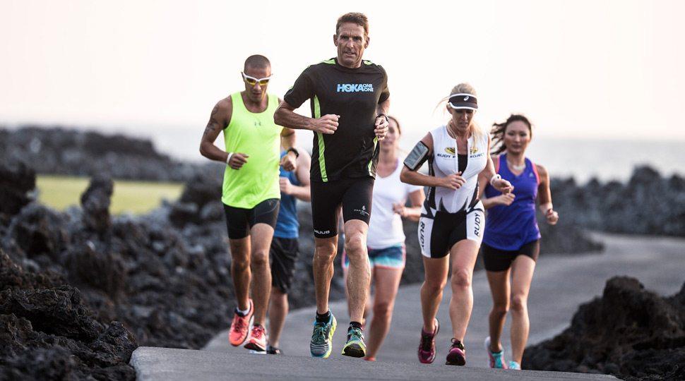 Hualalai triathlon running