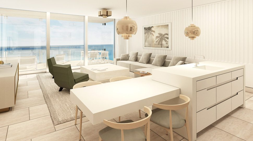 Four Seasons Surf Club Living Room