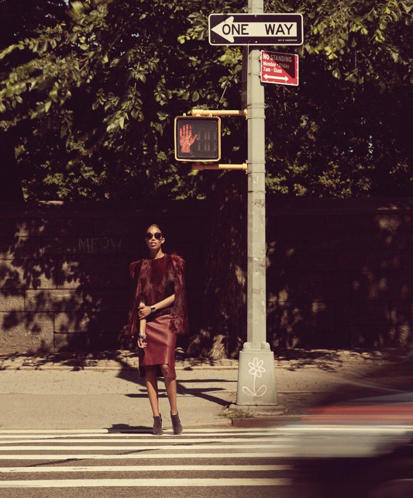 Woman walking in Midtown