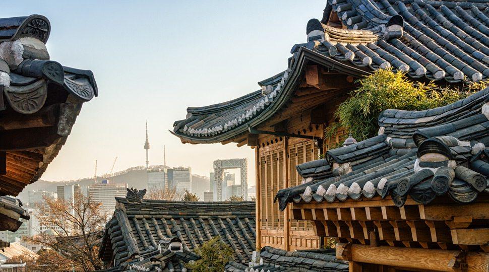 Seoul Old City Skyline