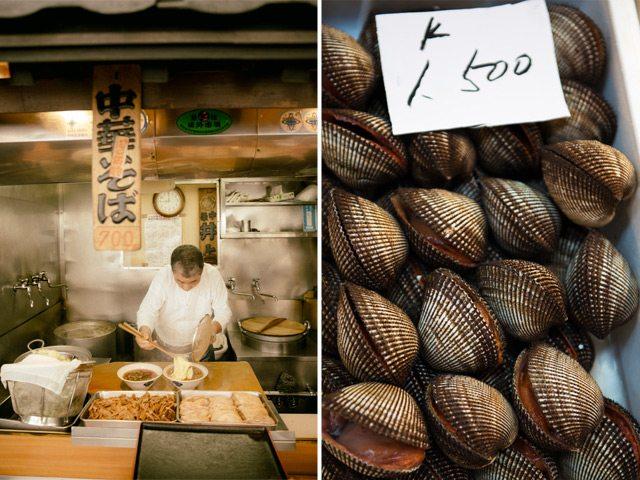 Tokyo food vendor