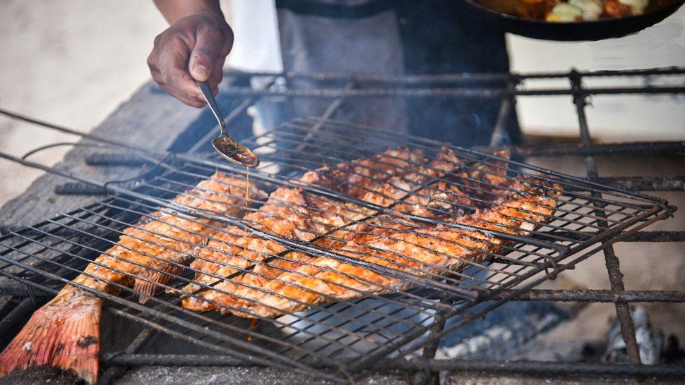 Zanaya Grilling Fish