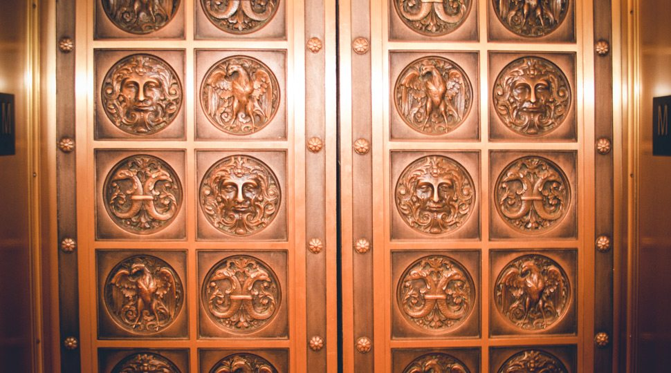 Elevator Doors at Four Seasons Beverly Wilshire