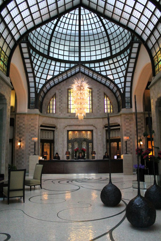 Four Seasons Budapest architecture