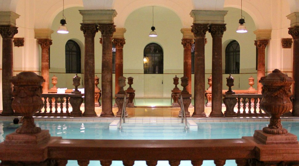 Széchenyi Thermal Baths in Budapest