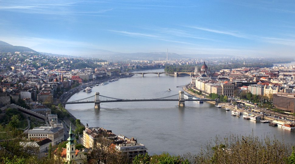 Cityscape in Budapest