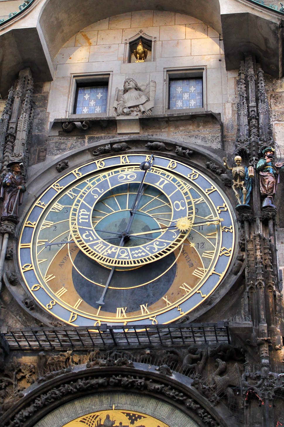 Clock in Old Town Square Prague