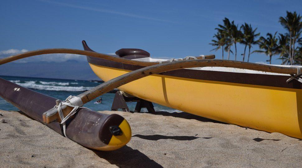 Hawaiian outrigger