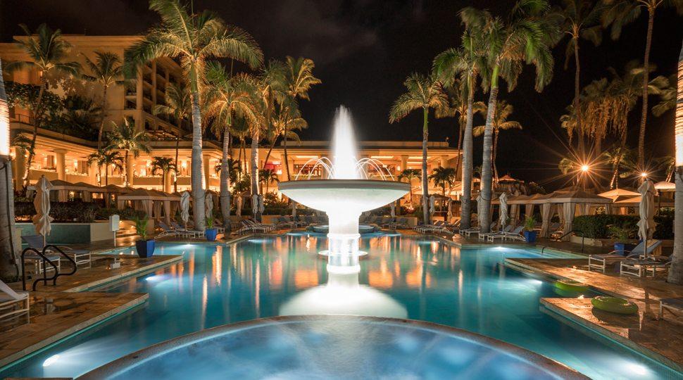 Pool at FS Maui