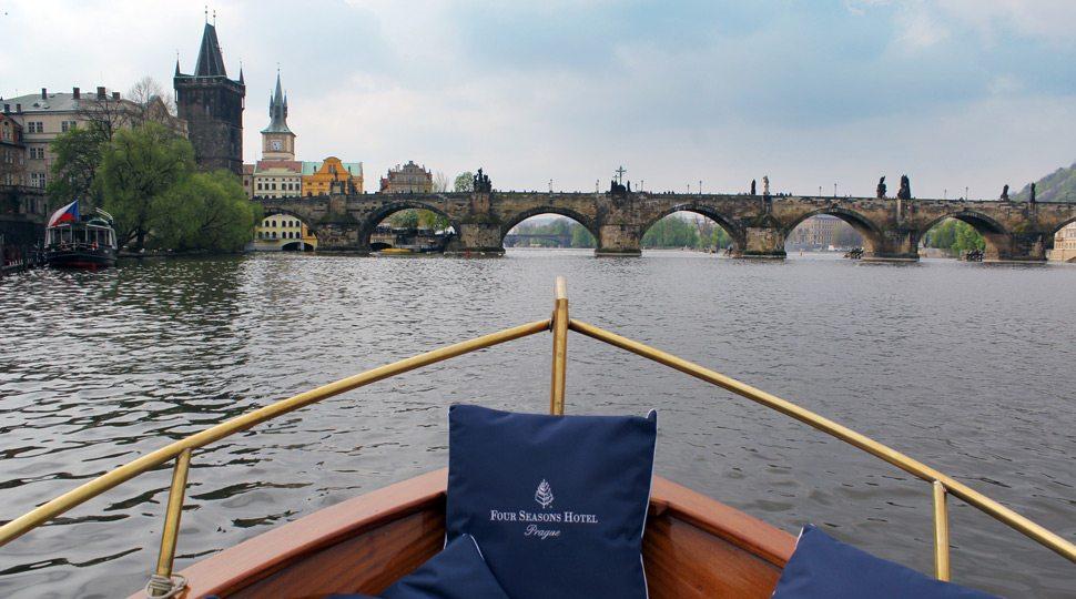 Cruise on Prague's Vltava River