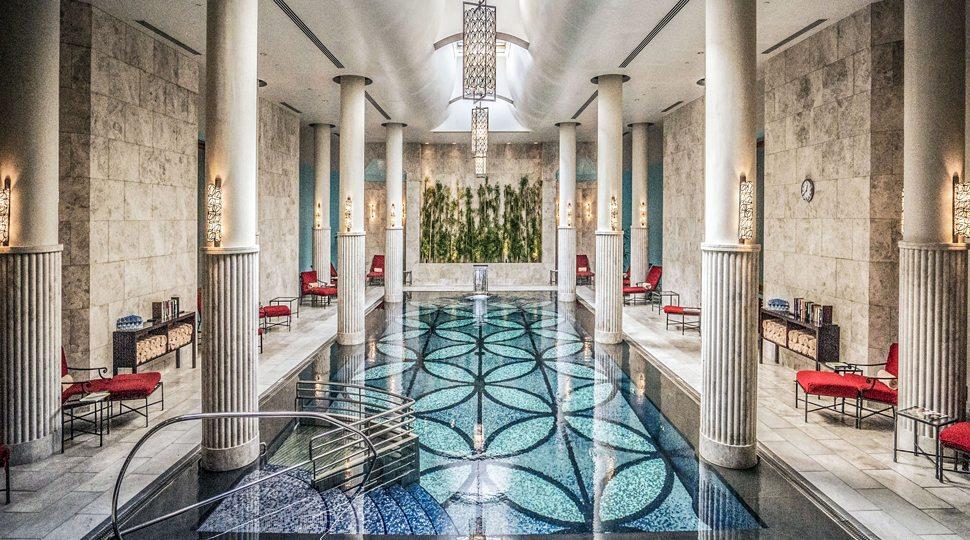 Pool at Four Seasons Hotel Istanbul at the Bosphorus