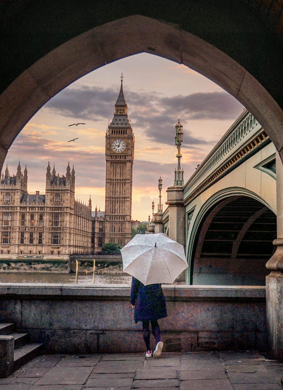 London's Big Ben and the Palace of Westminster