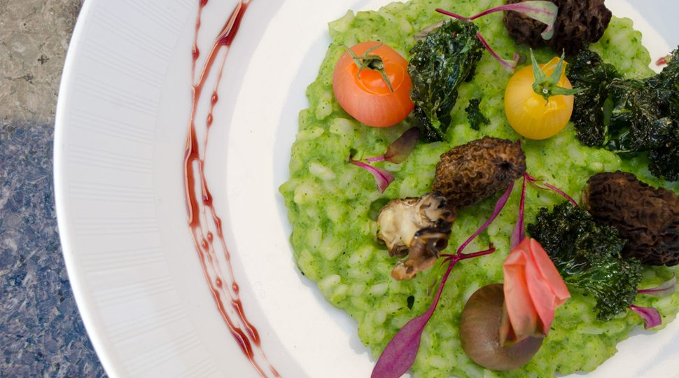 A green dish in Scottsdale