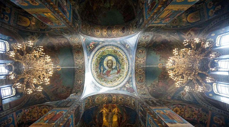 Mosaics in the Church of Our Saviour on the Spilled Blood