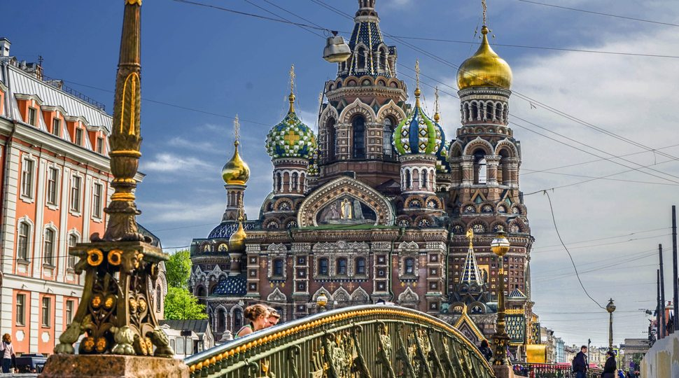 The Church of Our Saviour in St. Petersburg