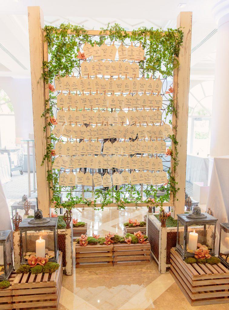 A reception in Palm Beach