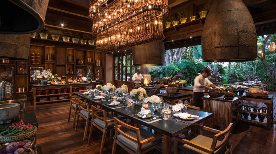 The cooking school at Four Season Chiang Mai's Rim Kitchen