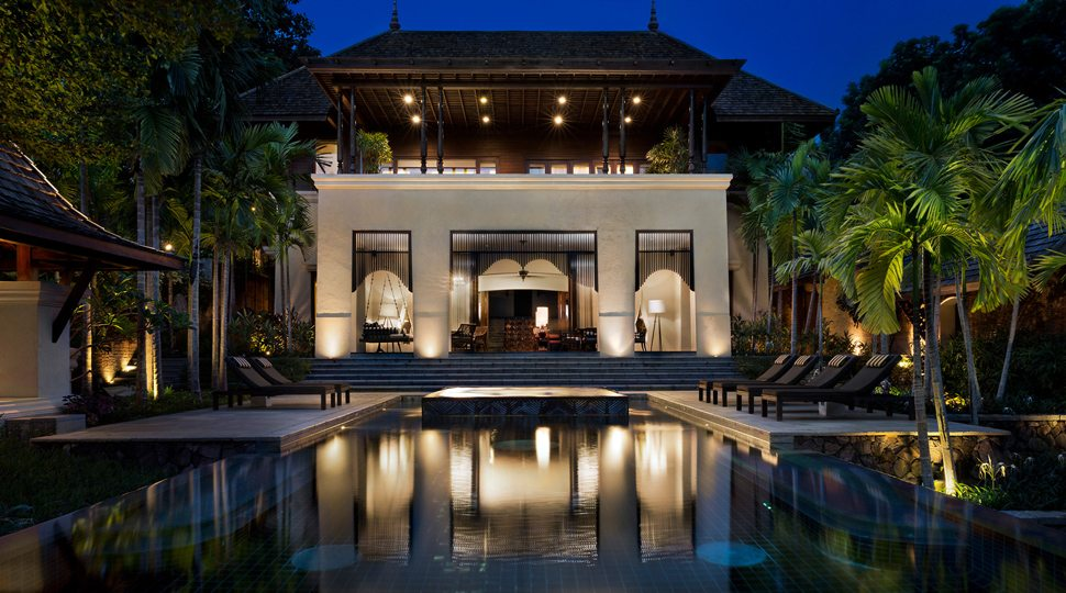 The exterior of the Private Resort at Four Seasons Chiang Mai